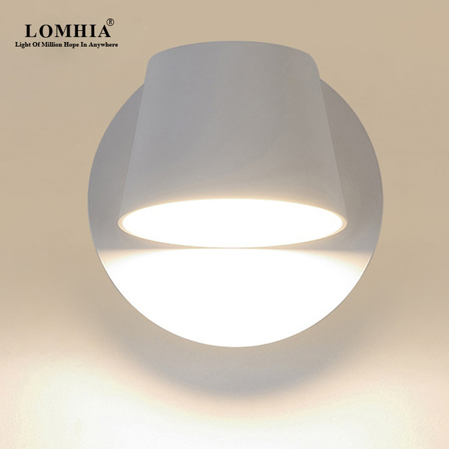 Adjule Modern Swivel Led Wall Light Sconce Lamp Ac110v 240v Metal Lighting Fixtures Bedroom Living