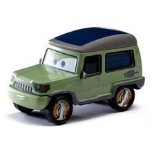 Disney Pixar coches Axelrod Rayo McQueen Mater Jackson tormenta Ramírez 1:55 fundición de aleación de Metal modelo juguetes para niños de regalo