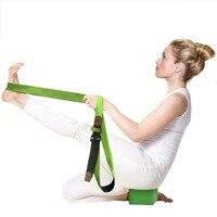 Yoga Stretching Strap 3 M long Coton Sangles D'exercice Réglable D-Anneau Boucle Durable pour le Yoga Remise En Forme de Ceinture Accessoires