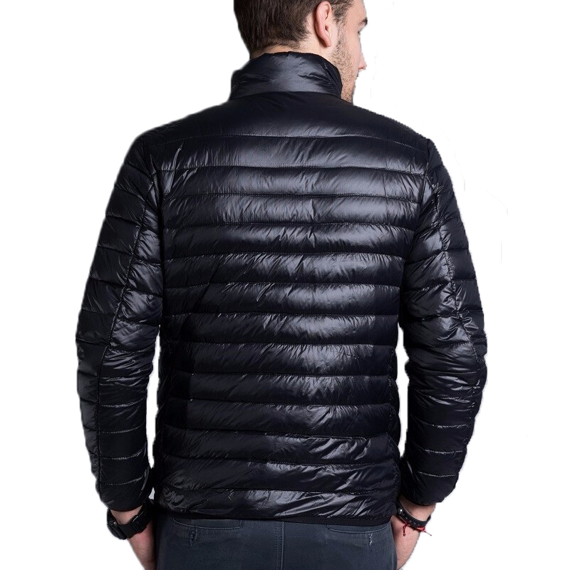 897a06141fd Men casual warm Jackets solid thin breathable Winter Jacket Mens outwear  Coat Lightweight parka Plus size XXXL hombre jaqueta-in Jackets from Men s  Clothing ...