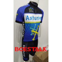 ASTURIAS cycling pro team kit 2019 blue aero custom cycling suit gear mountain bike set jersey clothes racing wear ropa ciclismo