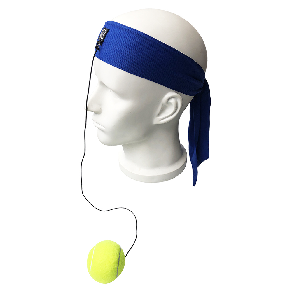 Boxing Punch Exercise Fight Ball Reflex Boxer React Speed Training Head Band