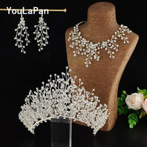 Youlapan Jewelry Wedding Hair-Accessories Bridal Tiara