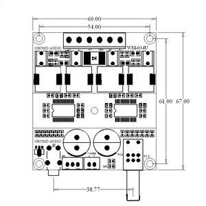 Image 4 - DC 12В 24В TPA3116D2 Hifi 2,0 каналов 100 Вт + 100 Вт стерео аудио Мощность цифровая плата усилителя