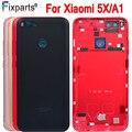 Задняя крышка для аккумулятора Xiaomi mi 5X  задняя крышка для корпуса из стекла  чехол для аккумулятора Xiaomi mi A1  запасные части + кнопка регулиров...