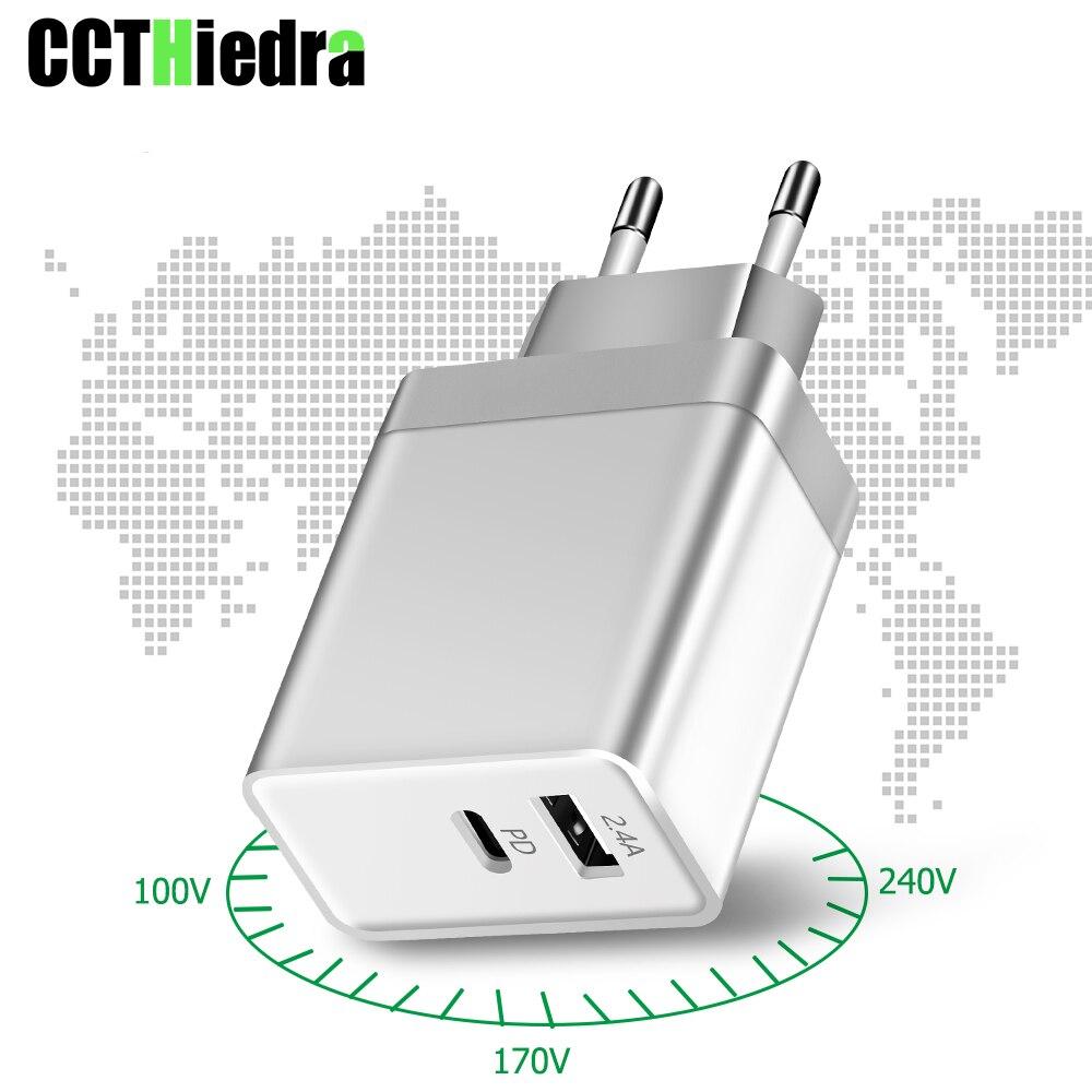 29W Für MacBook iPhone Xiaomi Schnelle PD USB ladegerät PD ladegerät typ-c wand ladegerät EU UK US plug power adapter Lade Typ C