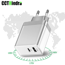 29W For MacBook iPhone Xiaomi Fast PD USB charger type-c wall EU UK US Plug power adapter Charging Type C