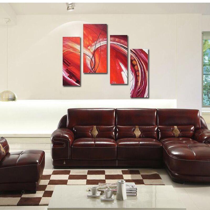 100% peint à la main paysage toile peinture à l'huile mur Art décoration de la maison moderne abstraite peinture à l'huile pour salon photos