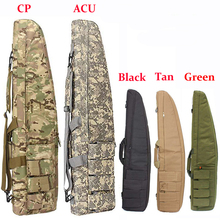 98CM/118CM Tactical Gun Bag Military Gun Carry Sniper Rifle Gun Case Protection Bags Airsoft Hunting Backpack Shoulder Pouch