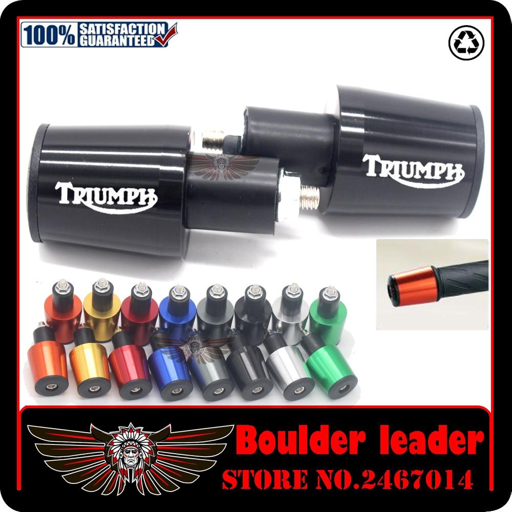 "Industrious Universal Motorcycle Motocross Cnc Aluminum 7/8"" Bar End Handlebar For Triumph Trophy/se Tiger 1200 Explorer 2012 2013 2014 2015 Aromatic Flavor"