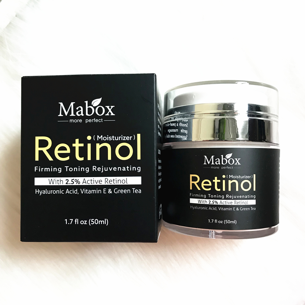 Retinol Serum 25 Anti Aging Day And Night Moisturizing Cream For Vitamin E Hyaluronic Acid Facial Oil Skin Care 5 4 7 2