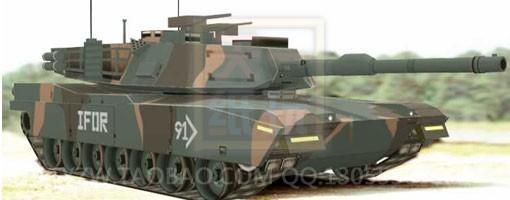NATO M1A1 tanks DIY paper model font b toy b font military tank paper art