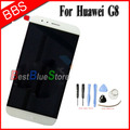 Huawei G8 LCD Display + Touch Screen 100% Original Digitizer Assembly Replacement Accessories For Huawei Ascend G8 Phone - White
