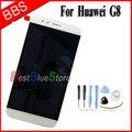 Huawei g8 display lcd + montagem digitador da tela de toque 100% original acessórios de reposição para huawei ascend g8 telefone-branco