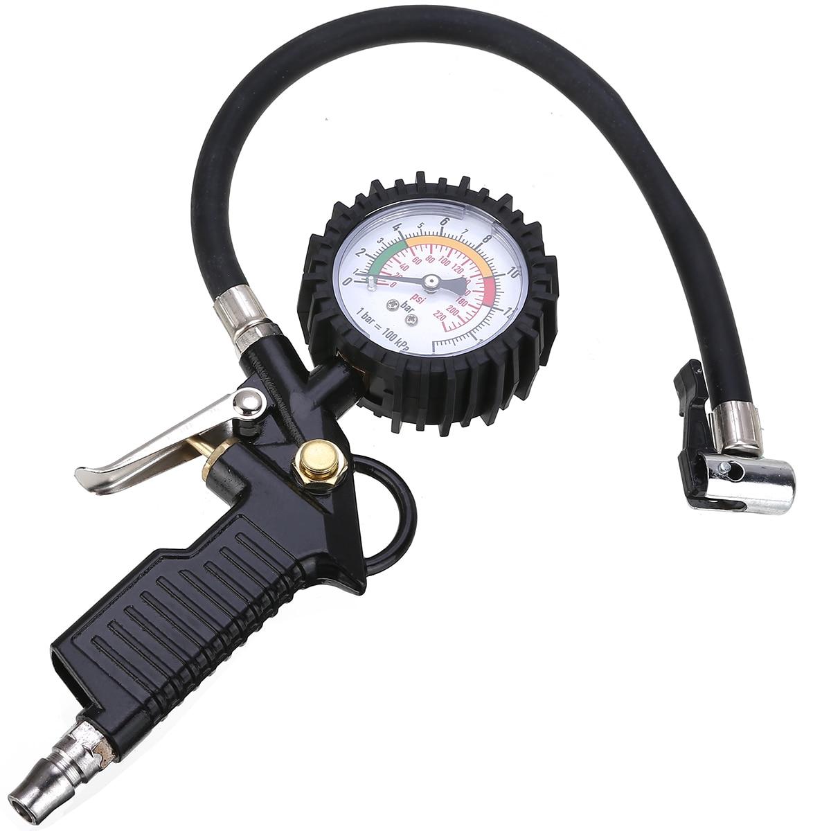 Новый автомобильный велосипедный манометр для шин, манометр для шин, пневматический инструмент для шин, манометр для компрессора, манометр ...