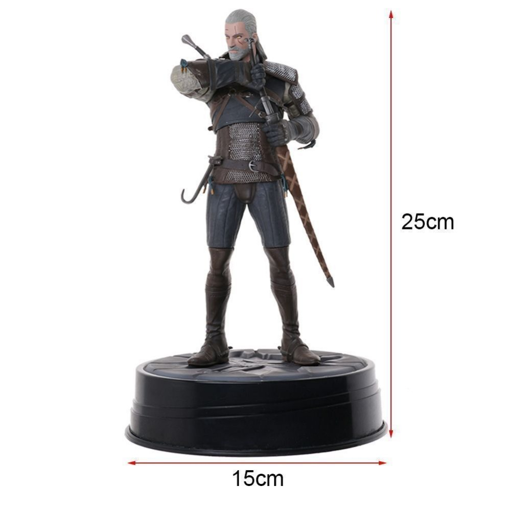 Cheval noir Deluxe The Witcher 3 sauvage chasse Geralt 8