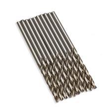 10PCS/Set HSS Twist Drill Bit 2.5mm/3mm/3.5mm/4mm Micro HSS Twist Drilling Auger Bit for Electrical Drill Woodworking Power Tool