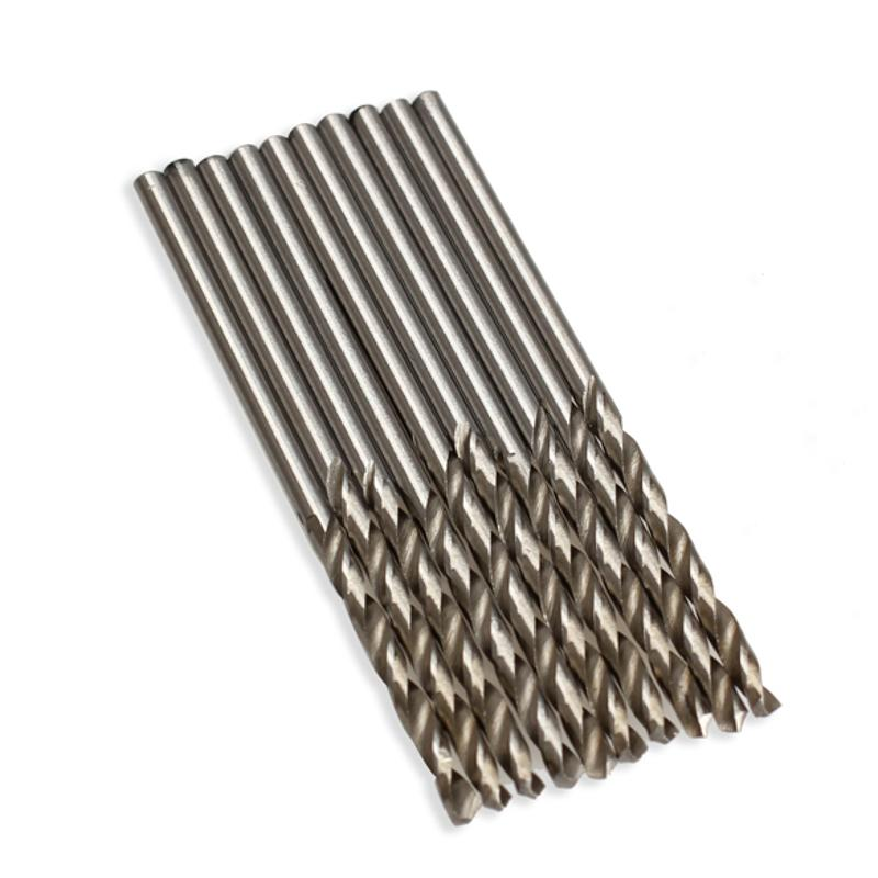 10PCS/Set HSS Twist Drill Bit 2.5mm/3mm/3.5mm/4mm Micro HSS Twist Drilling Auger Bit for Electrical Drill Woodworking Power Tool 11in1 micro hss twist drill bit 0 5 3 2mm mini manual hand drill chuck plastic wood metal plastic drilling tool power tool