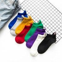 Women short socks eyes socks summer thin cotton low socks SC049 8pairs