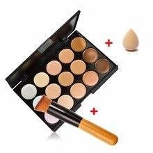 15 Color Contour Face Makeup Concealer Palette Corrector Mak