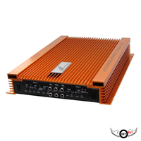 1PC High Quality 4 100W Car Amplifier 4 Channel 4 Way HIFI High Power Auto Amplifiers