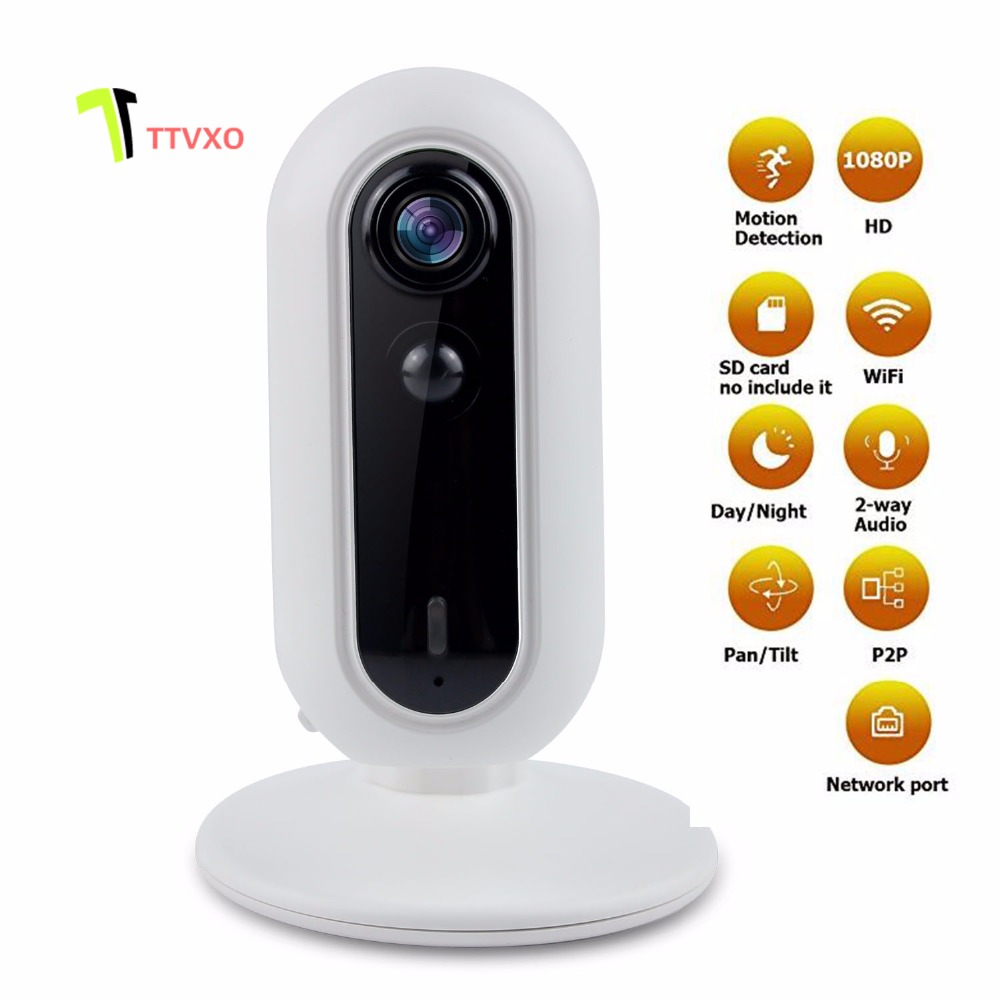 Motion detection 1080P HD 3.0MP WiFi Security IP Camera with iOS/Android App, Pan, Tilt, Zoom, 2-Way Audio, Motion Alerts hd 1080p pan