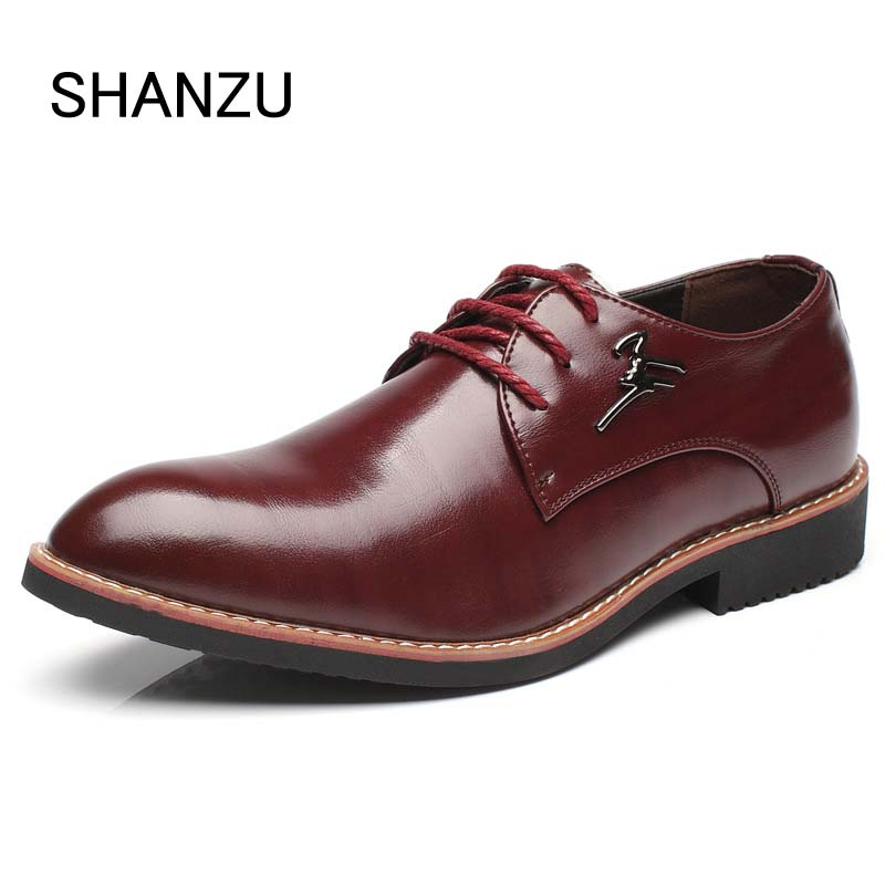 Luxury Brand Design Men Brogues Dress Leather Shoes Male Formal Shoes Lace-Up Bullock Business Men Oxfords Shoes 339 new brand designer formal men dress shoes lace up business party oxfords shoes for men pointed toe brogues men s flats plus size