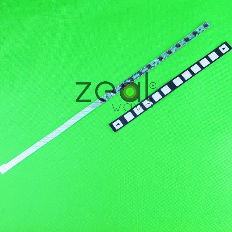 FANUC 12 key Membrane Keypad Keysheet A98L-0005-0255+cable /A86L-0001-0301 Repair 60 Days Warranty