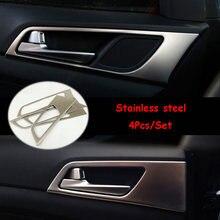 Lhd для hyundai tucson 16 17 18 2019 нержавеющая сталь внутренняя