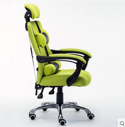 Ice blue home computer chairs mesh office chair can recline lift chair Staff Chair Ergonomic special offer free shipping