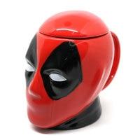 Marvel Superhero Dead Pool Ceramics Mug Office Funny Gift 3D Coffee Stir Environmental Protection Drink Creative beer Tea Cup