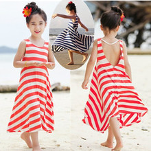 Fashion Girls Chevron Dresses Bohemian Next Baby Girls Kids cotton beach Dress children clothing summer autumn new 2014 Brand