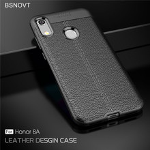 For Huawei Honor 8A Case Soft Silicone Leather Bumper Anti-knock Phone Case For Huawei Honor 8A Cover For Honor 8A Funda BSNOVT for huawei honor 9 case soft silicone pu leather shockproof bumper case for huawei honor 9 cover for huawei honor 9 funda bsnovt