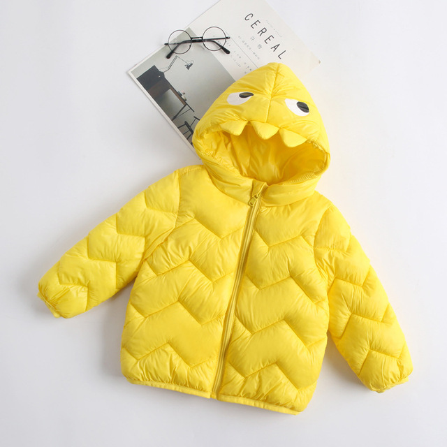 Best Offers 7colors Dinosaur Style Clothes Jacket Coat Fashion Cartoon Costume Fall - Winter Kids Clothes Children Suits For Boys Outerwear