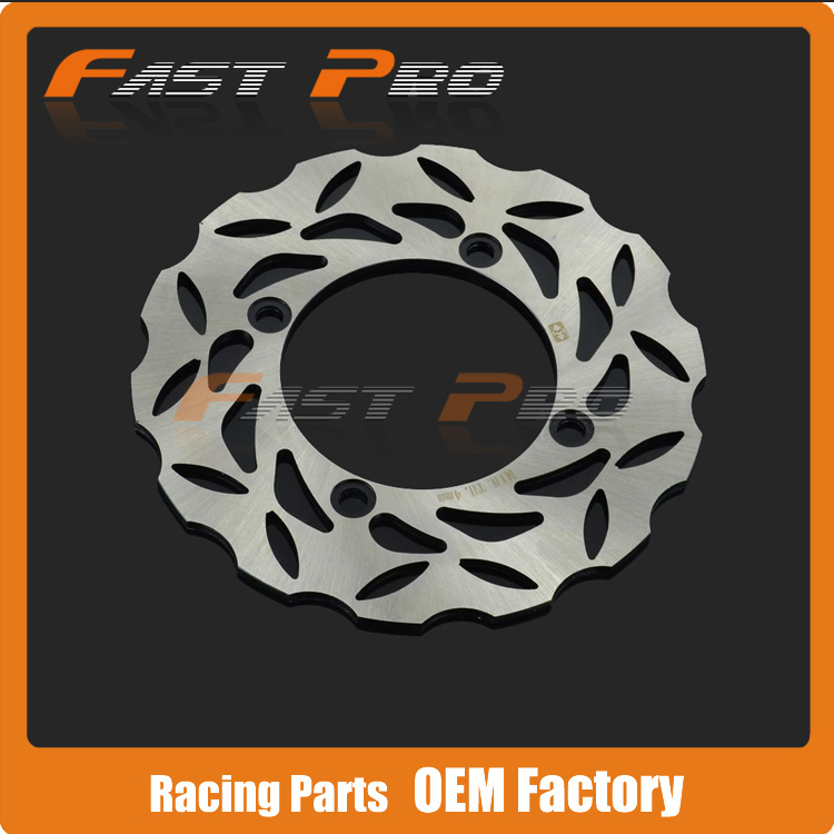 Rear Brake Disc Rotor For Honda CBR250 CB250 CBR400 VTR250 CB600F HORNET CBR600 CBR600RR CBR900RR CB1000 CBR1000RR VTR1000 rear brake disc rotor for honda cbr 600 rr cbr900rr cbr 1000 rr cbr 400 rr 1998