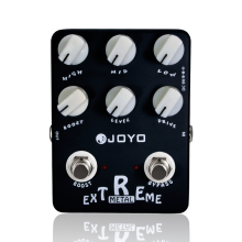 Guitar Effect Pedal Extreme Metal Distortion Guitar Pedal Aluminum alloy Body Guitar Parts & Accessories JOYO JF-17 Effect Parts new effect pedal aural dream fixed harmony guitar effect pedal guitar accessories