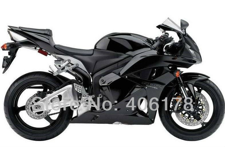 Горячие продаж,Мото 09-12 CBR для Хонда ЦБ РФ 600rr Обтекатели CBR600 F5 в 2009-2012 черный мотоцикл Обтекатели части (литье под давлением)