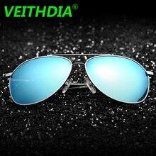 2017 VEITHDIA Original Brand Designer Polarized Sunglasses Men Driving Goggles Sun Glasses Eyeglasses Coating Accessories 2366