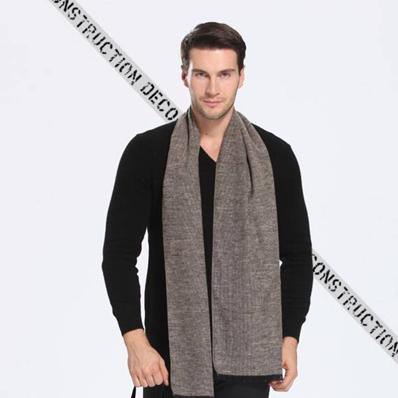 Winter Cashmere Scarf Men font b Tartan b font Patchwork Sjaal Luxury Brand Business Scarf Echarpe