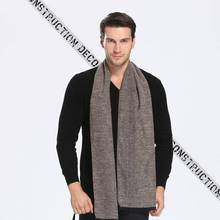 Winter Cashmere Scarf Men Tartan Patchwork Sjaal Luxury Brand Business Scarf Echarpe Hiver Male YJWD637