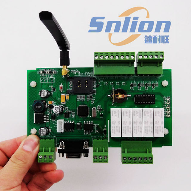 Бесплатная доставка SIM900 GSM модуль совет по развитию RS485 экрана управления 4 температура 5 способ реле