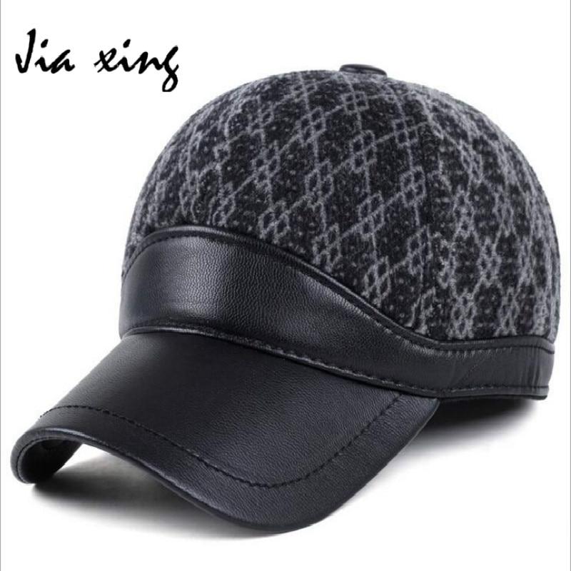 fashion winter plush font ear warmer men crochet baseball cap pattern free for