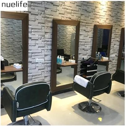 0.53x10 m salon de coiffure brique papier peint salon de coiffure 3d ...