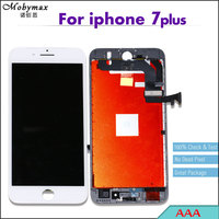 10PCS AAA LCD Touch Screen Display For IPhone 7 Plus Digitizer Assembly Replacement Black White No