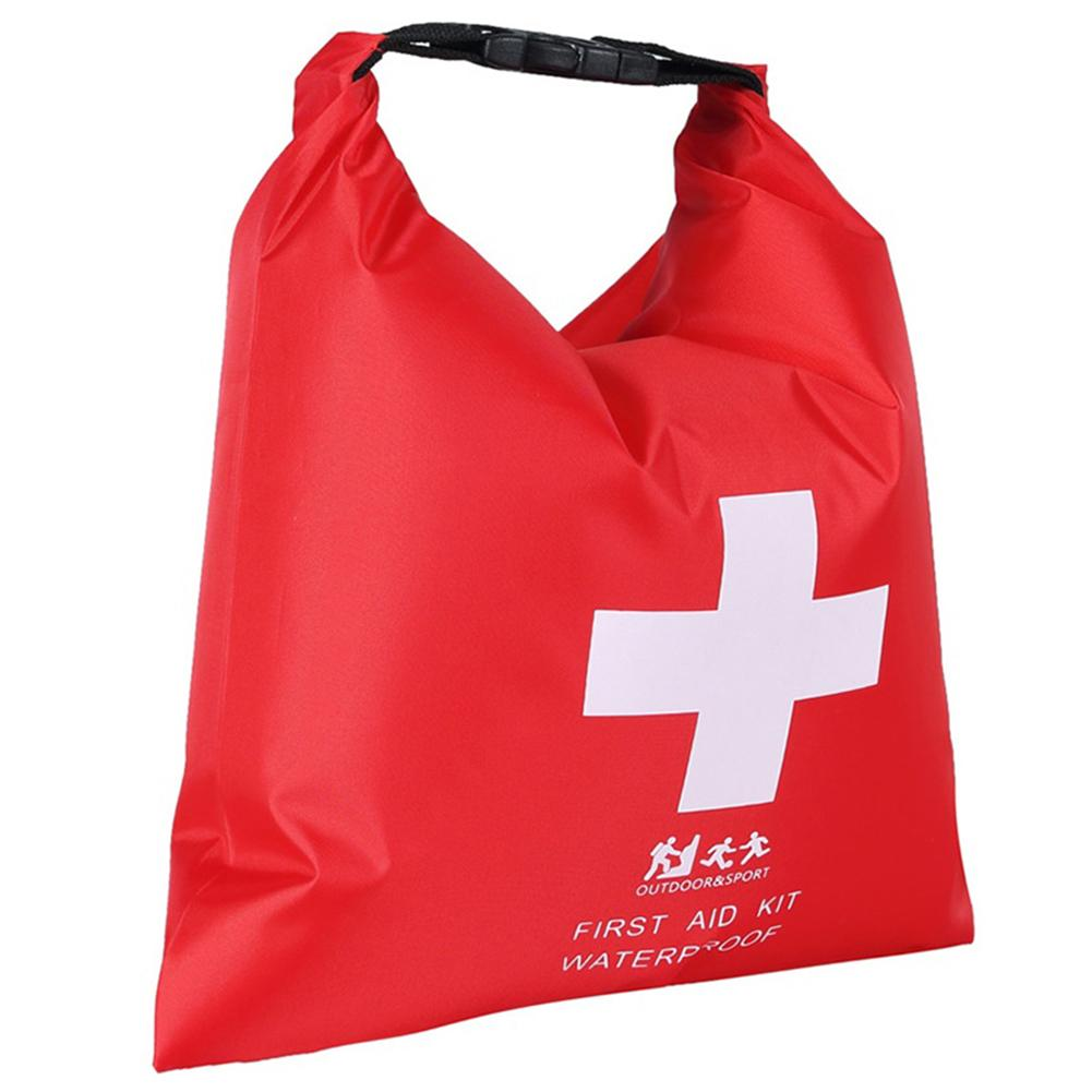 First Aid Supplies Storage Bag Portable Rubber Waterproof Dry Bag 1.2L Outdoor River Trekking Rafting Adventure