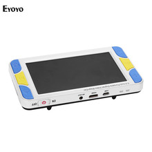 Eyoyo 5.0 4-32X 5 LCD Display Low Vision Video Magnifier electronic reading aid Digital Handheld portable