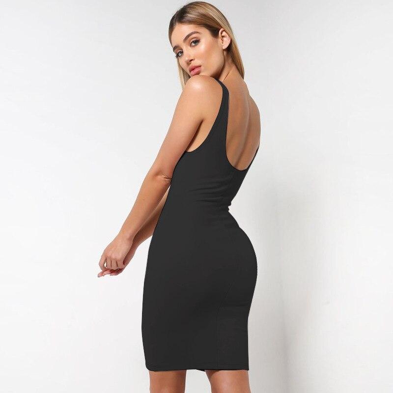dca6d44169e5 Aliexpress.com : Buy Almagore 2018 Cotton Summer Dress Backless Women Sexy  Bodycon Midi Dress Black Pink Basic Tube Long Slip Dresses Casual Vestidos  from ...