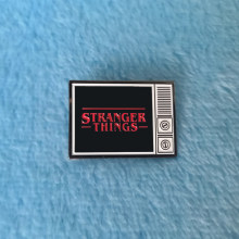 Insignia de Pin de Stranger Things para TV Eleven(China)