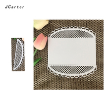 JCarter Semicircular Lace Frame Cutting Dies for Scrapbooking DIY Album Embossing Folder Cards Photo Template Background Stencil