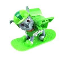 AUTOPS Горячие Патрульной Собаки С Лыжами Аниме Игрушки Действий Рис. собака Kid Toy Puppy Patrol Patrulla Канина Игрушки Для Ребенка подарок